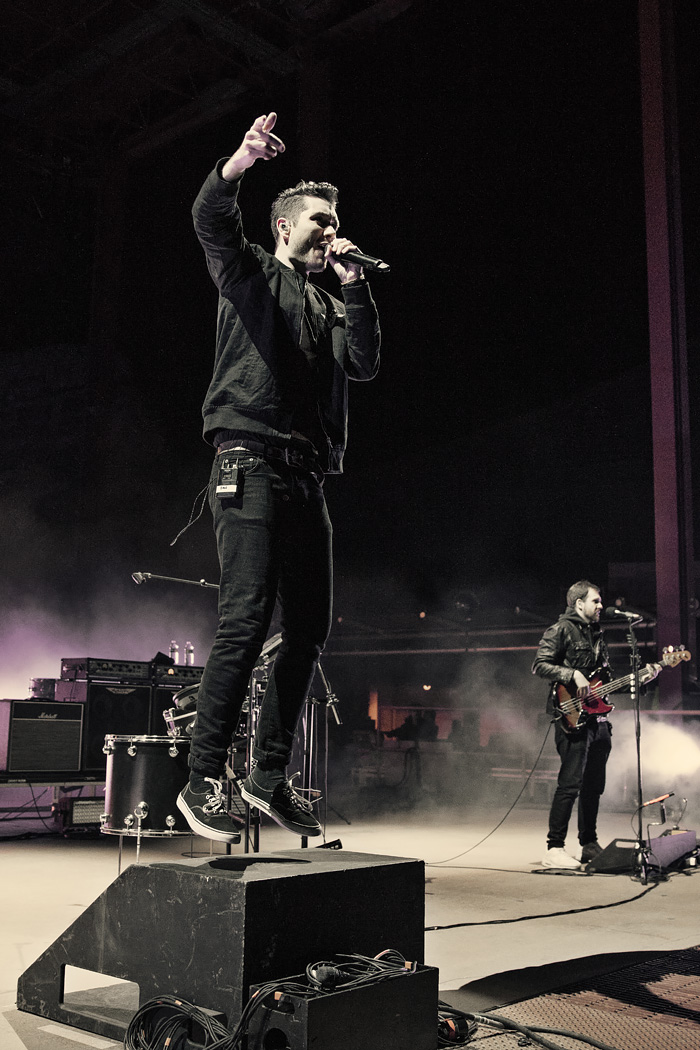 Bastille performs at Red Rocks with Andrew McMahon for Jeep on the Rocks 2016