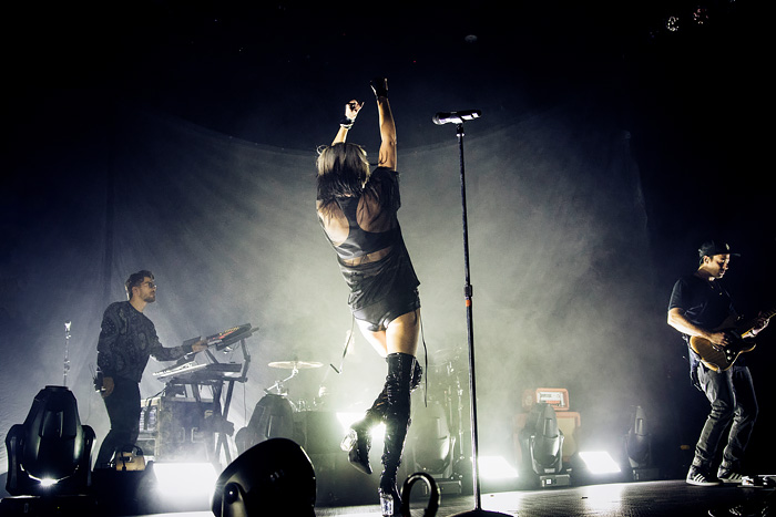 Phantogram concert photos from Fillmore in Denver 2016