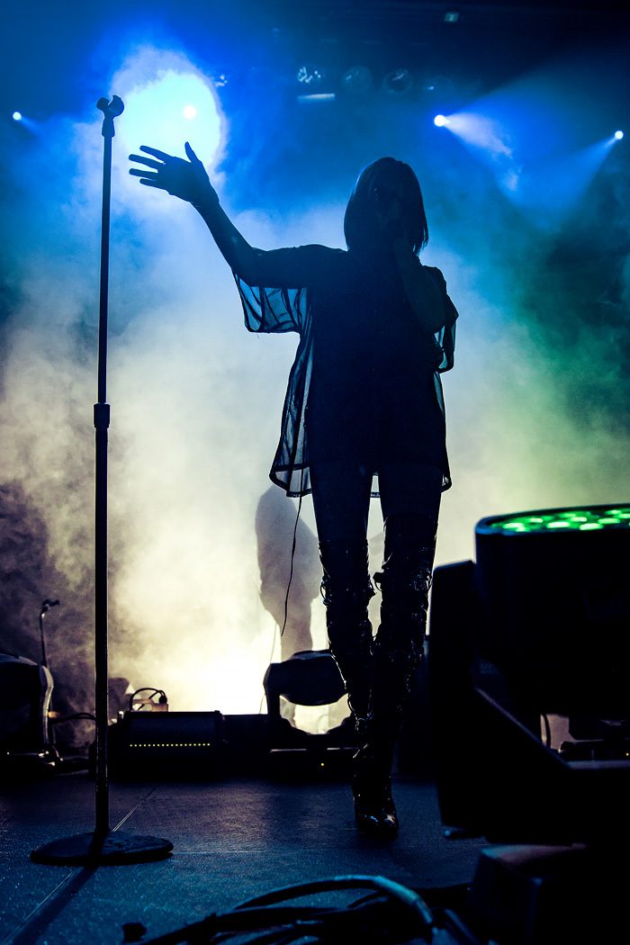 Phantogram concert photos from Fillmore in Denver 2016