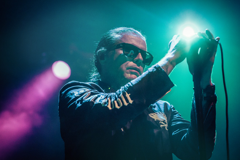 English band The Cult returned to Denver in 2016 to play the Ogden Theatre.