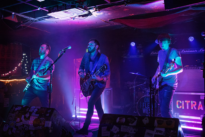 Denver band CITRA opens for In The Whale at Larimer Lounge