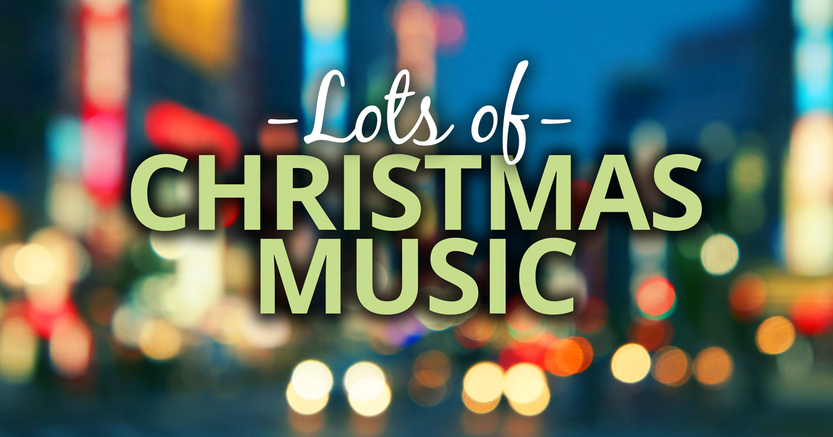 Christmas Music Playlists: Indie, Rock, R&B and Chill. A different playlist for each mood.