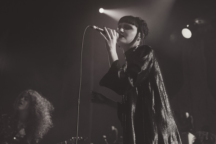 Muna opens for Grouplove at Denver's Ogden Theatre in 2016