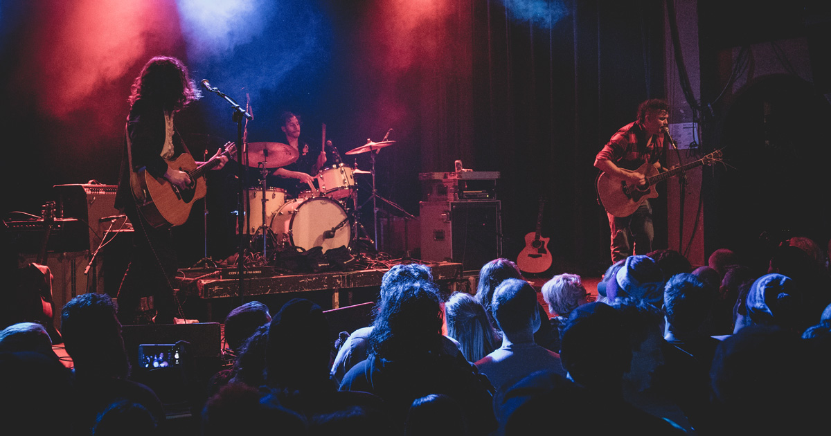 Denver band The Yawpers perform at Bluebird Theater in 2016.
