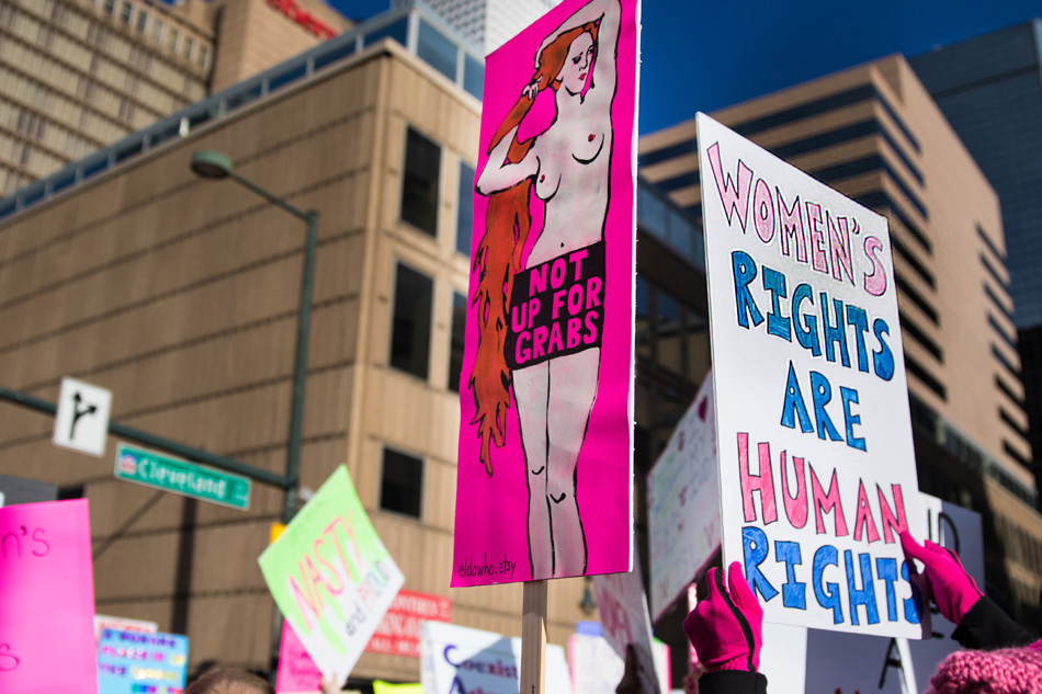 Photos And Signs From Womens March Denver  Greeblehaus-4496