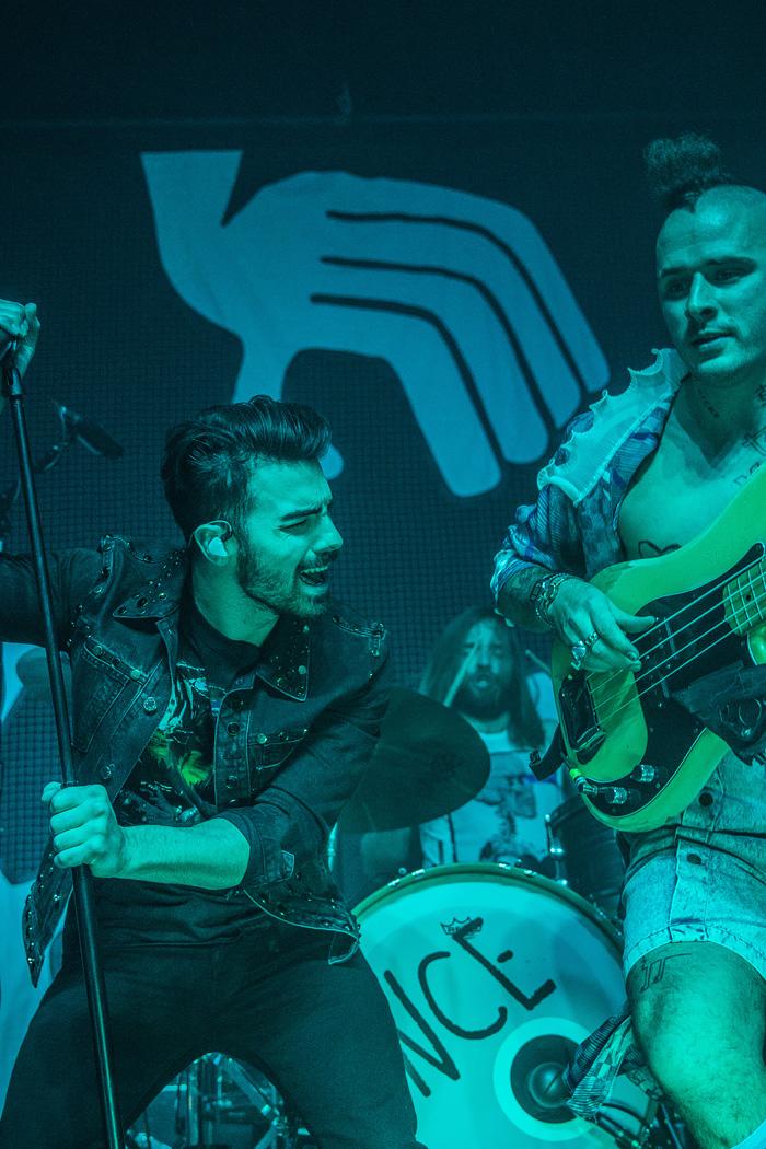 DNCE - Joe Jonas pop rock band - Denver photos