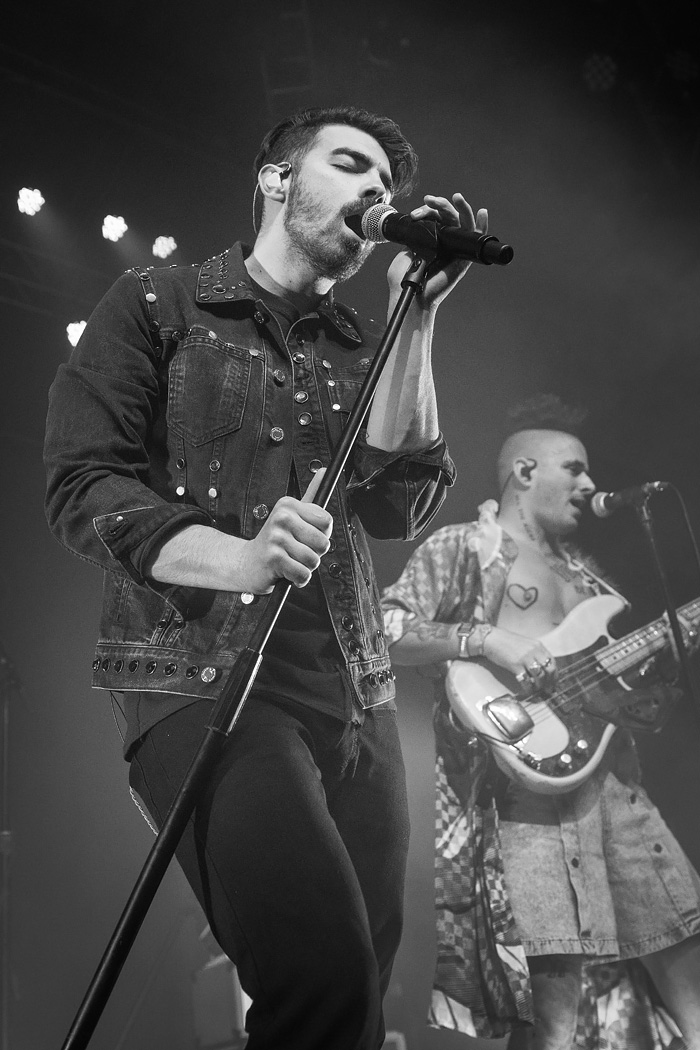 DNCE - Joe Jonas pop rock band - Denver photos