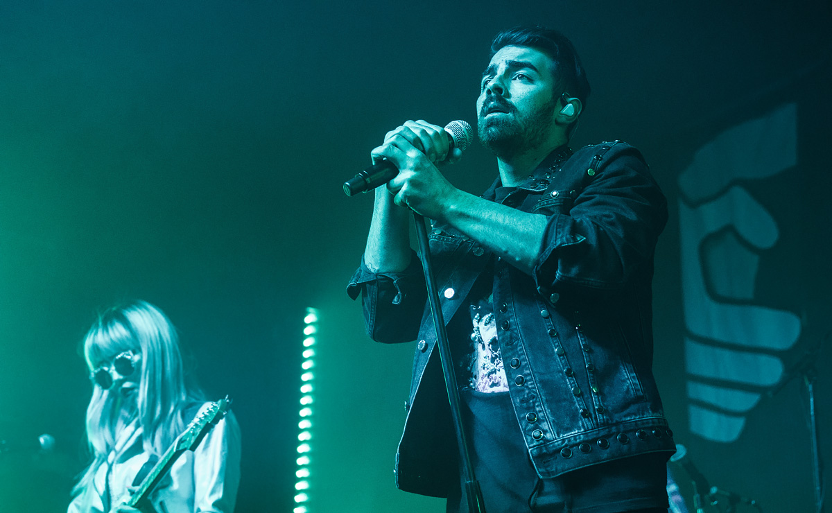 Concert photos of DNCE, Joe Jonas' pop rock band