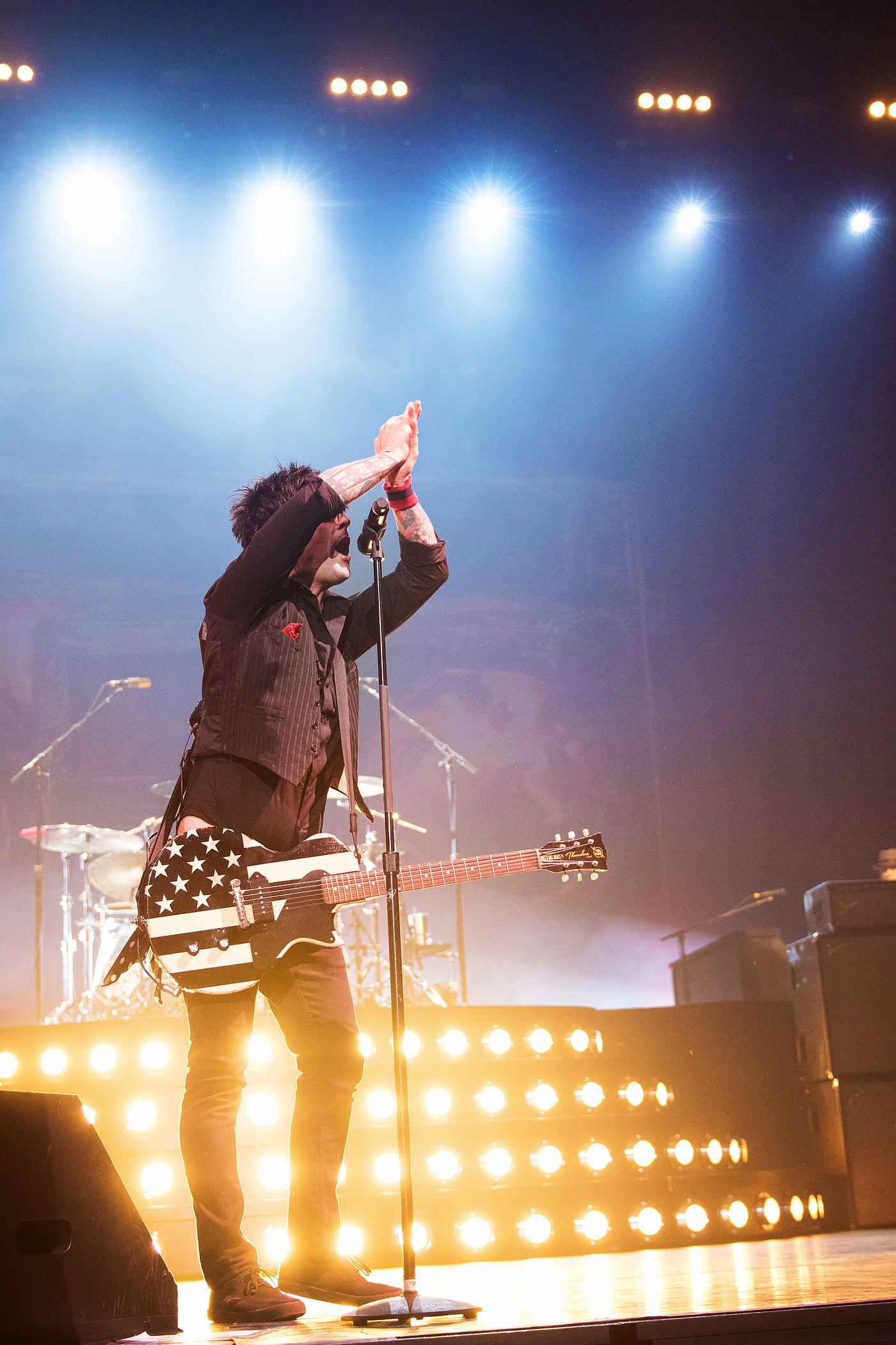 Green Day & Against Me concert photos from Denver 1st Bank Center, 2017