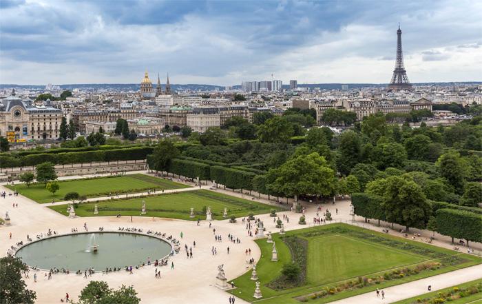 24 Hours in Paris: Tuileries Garden
