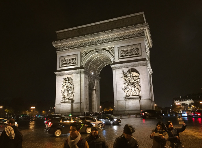 24 Hours in Paris: Arc de Triomphe