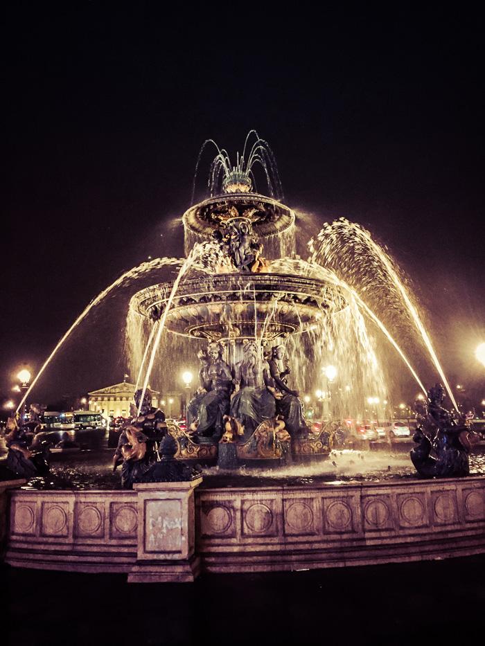 24 Hours in Paris: Fontaine des Mers