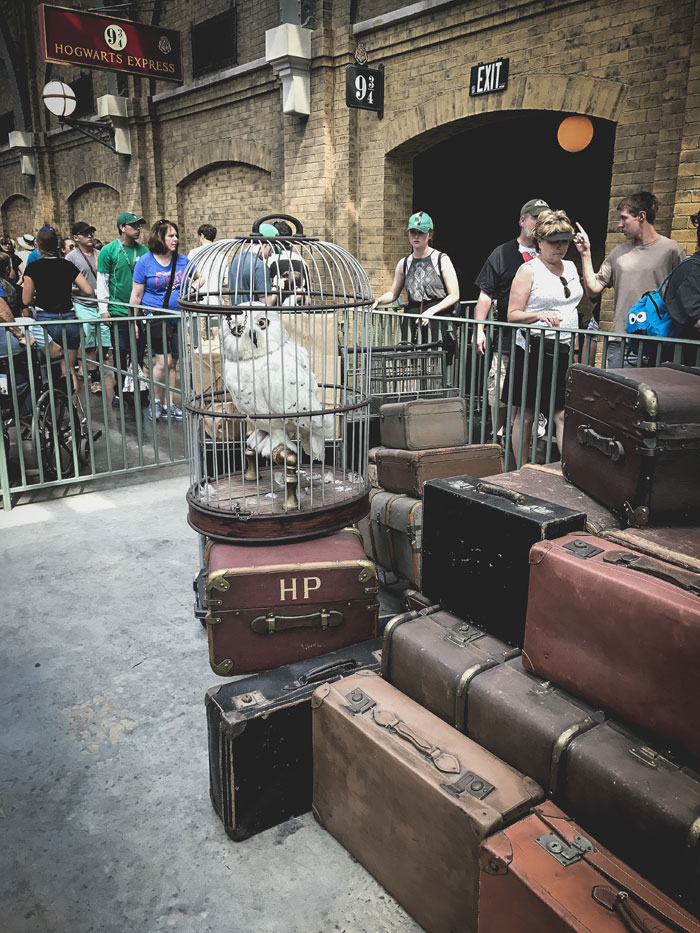 Tips for visiting Universal Studios Florida - Harry Potter Hogwart's Express Train