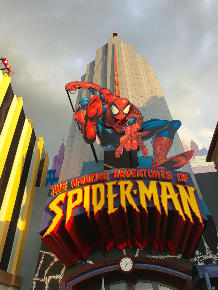 Tips for visiting Universal Studios Florida - Spider-Man