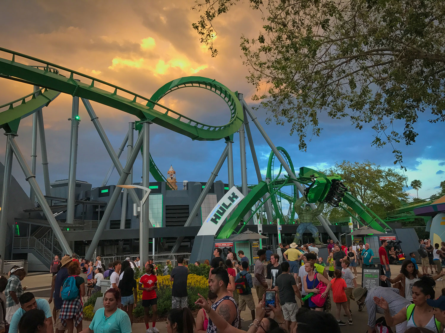 Tips for visiting Universal Studios Florida - The Hulk