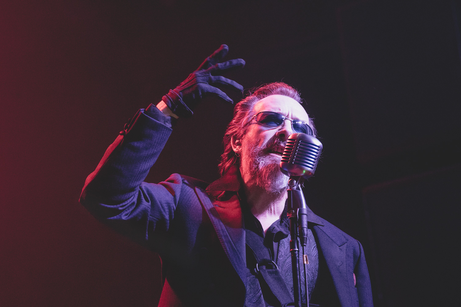 Concert Photos of The Damned - 40th Anniversary Tour - Denver, CO