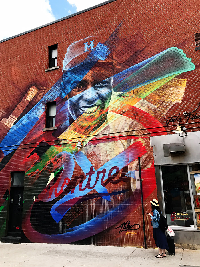 Mural Festival - Jackie Robinson - Montreal, Quebec