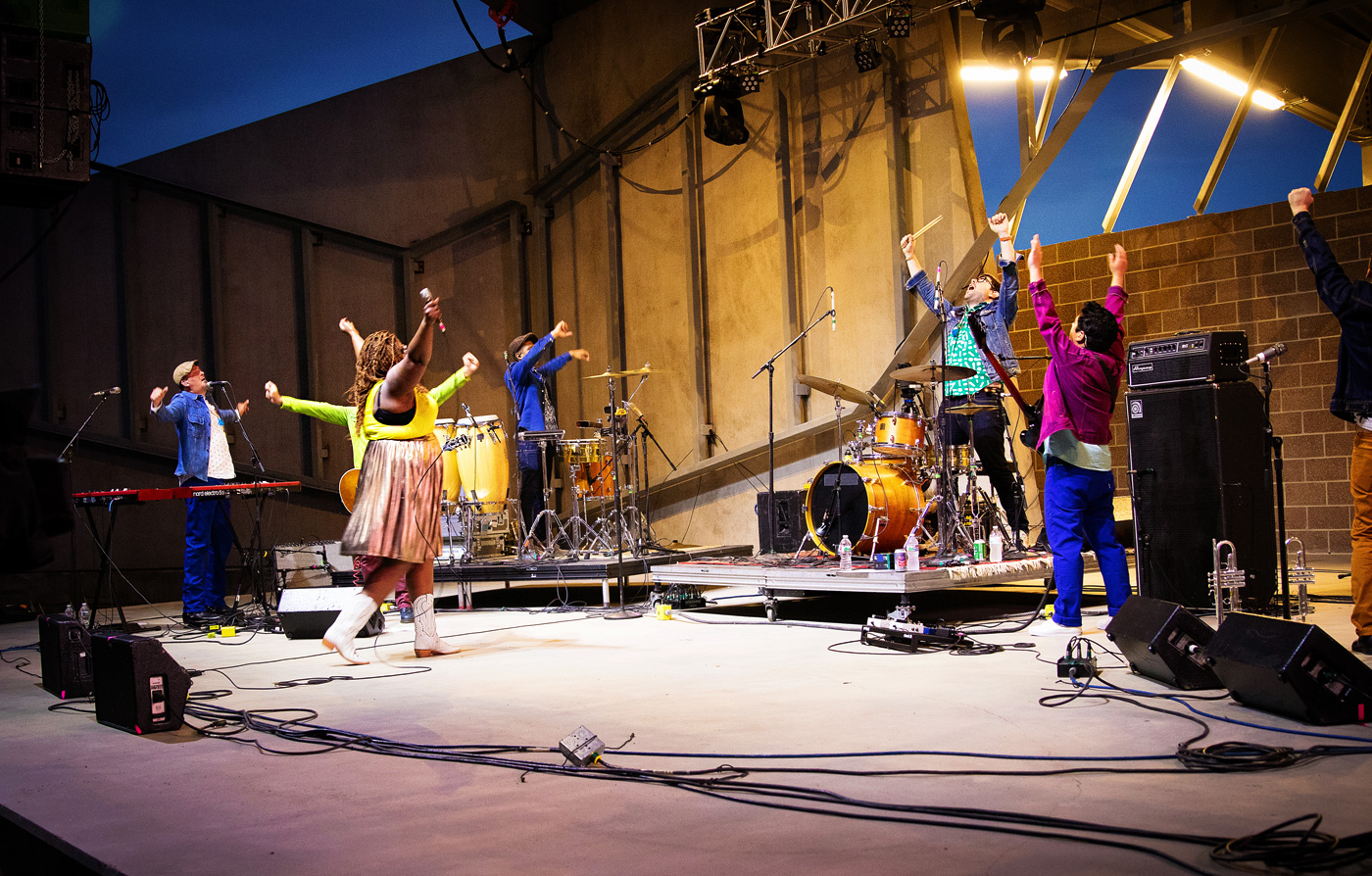 The Suffers - Concert Photos from Levitt Denver