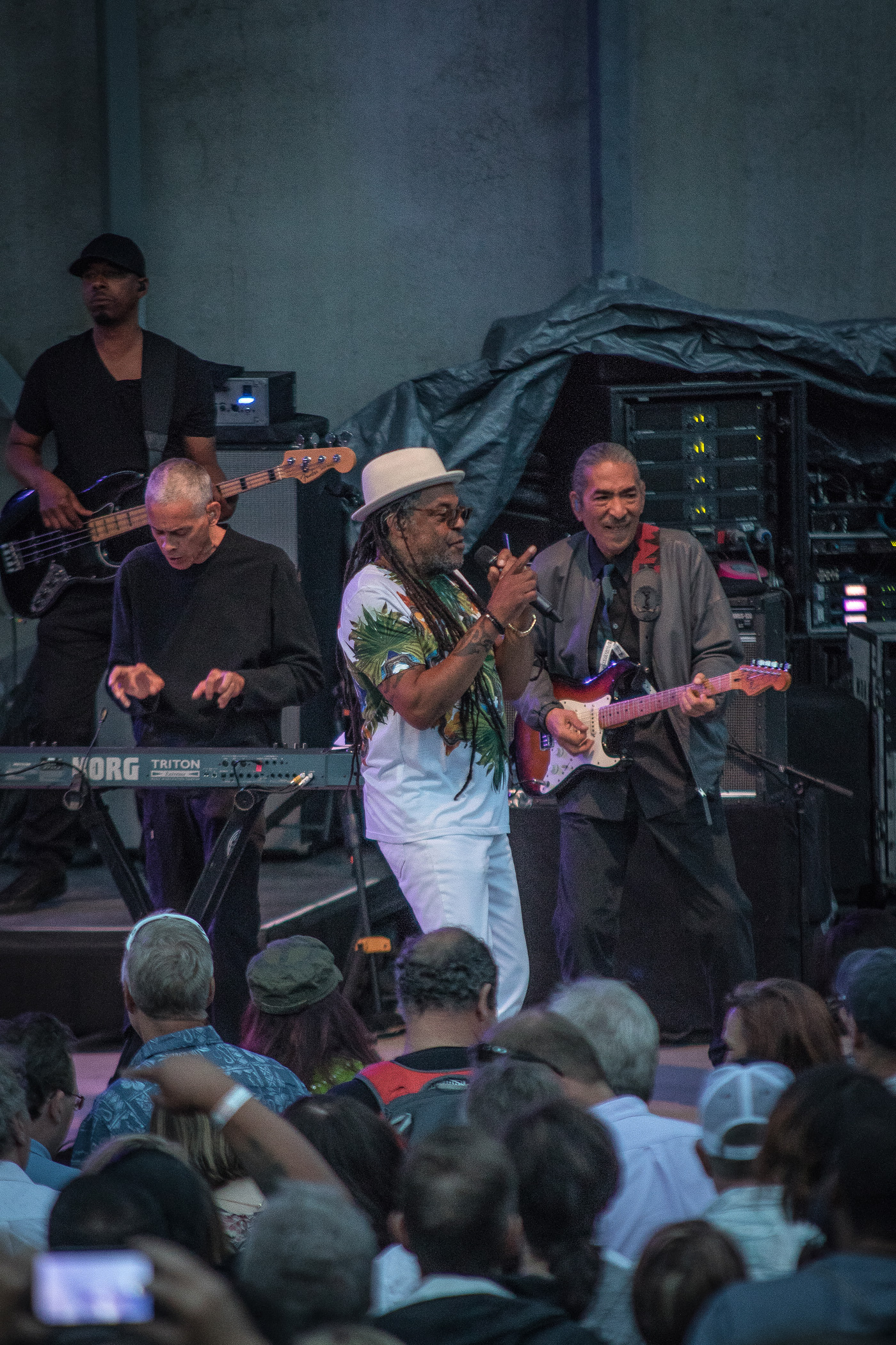UB40 Concert Photos - Levitt Pavilion Denver 2017