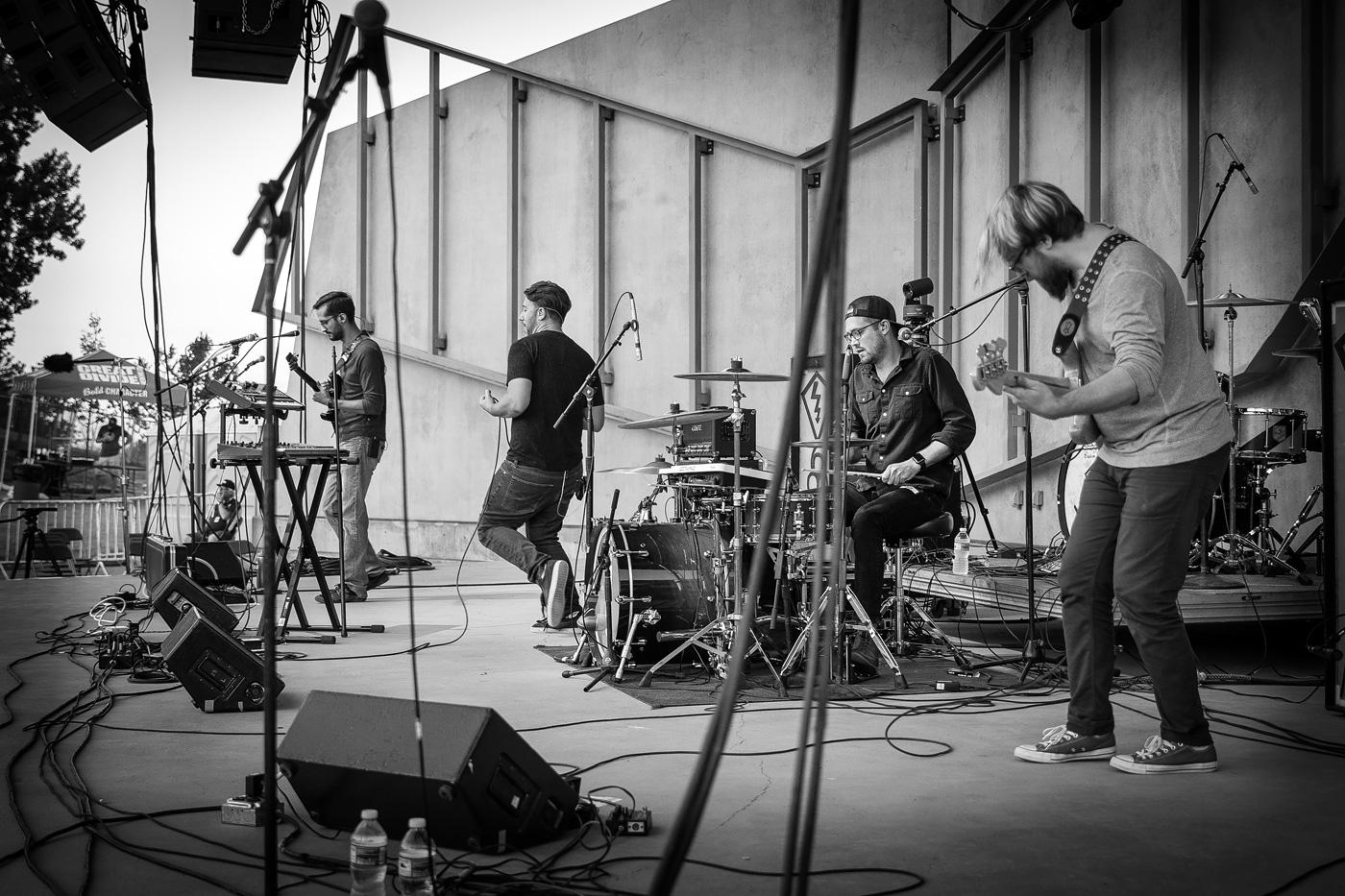 Denver band Chemistry Club at Levitt Pavilion