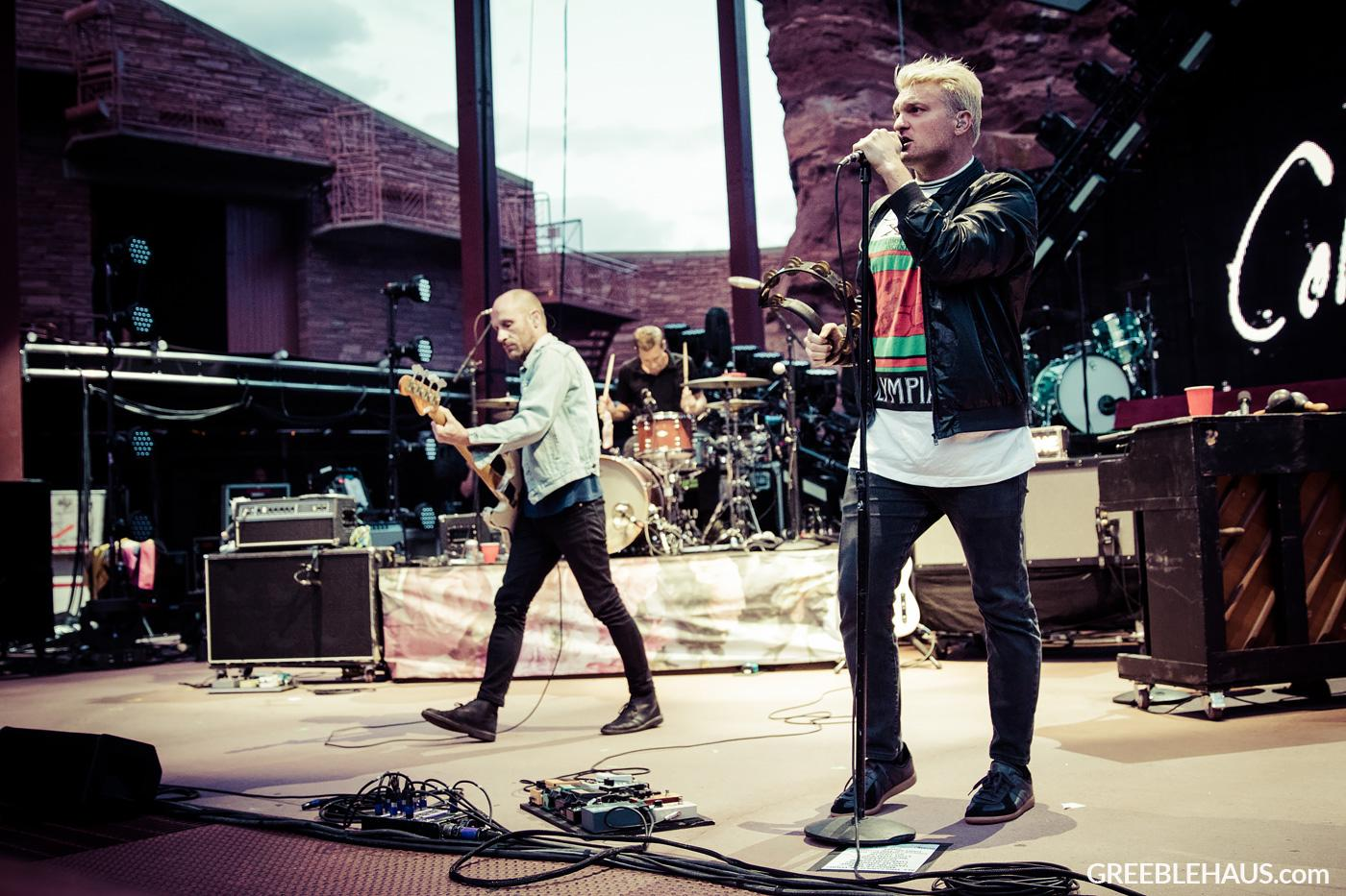 Cold War Kids concert photos from Red Rocks Denver