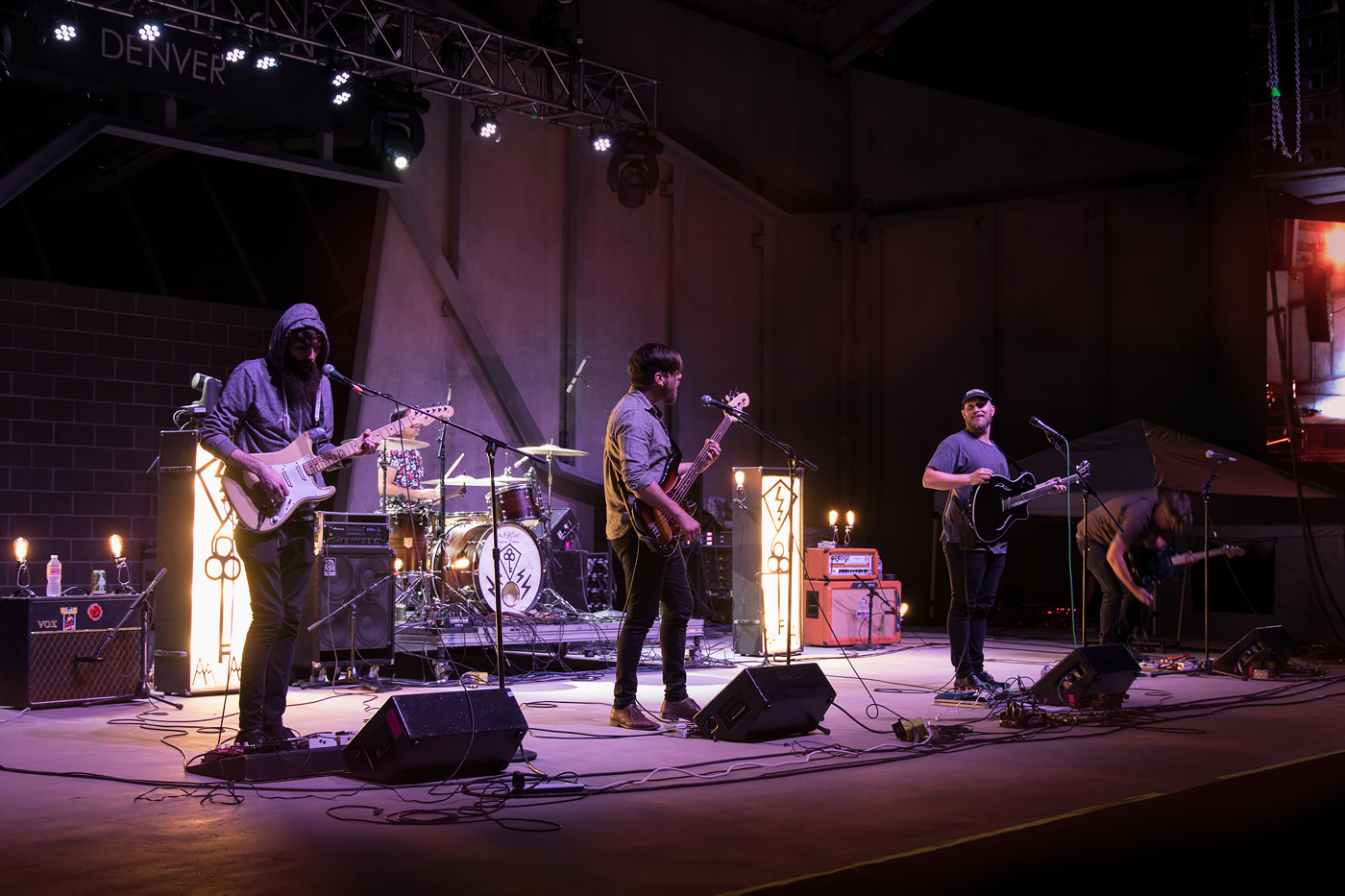 Denver band My Body Sings Electric at Levitt Pavilion