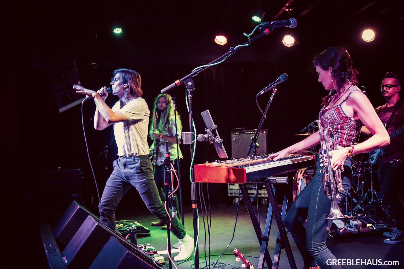 Concert photos of Outer Vibe from Denver's Marquis Theatre