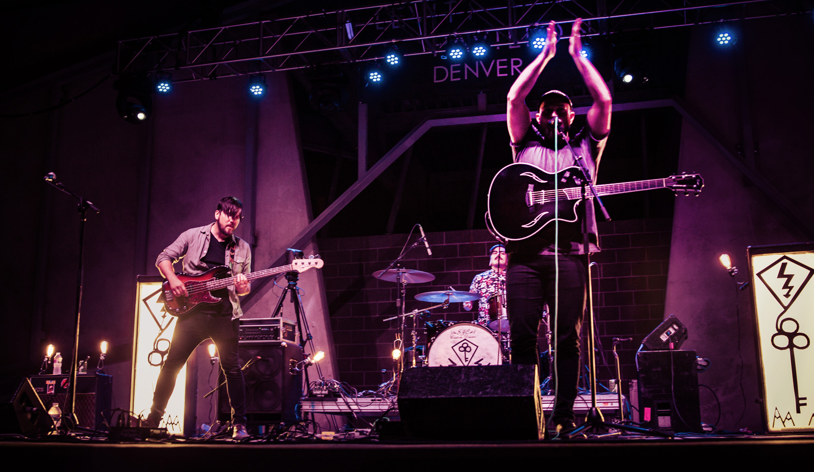 My Body Sings Electric Concert Photos - Levitt Pavilion Denver