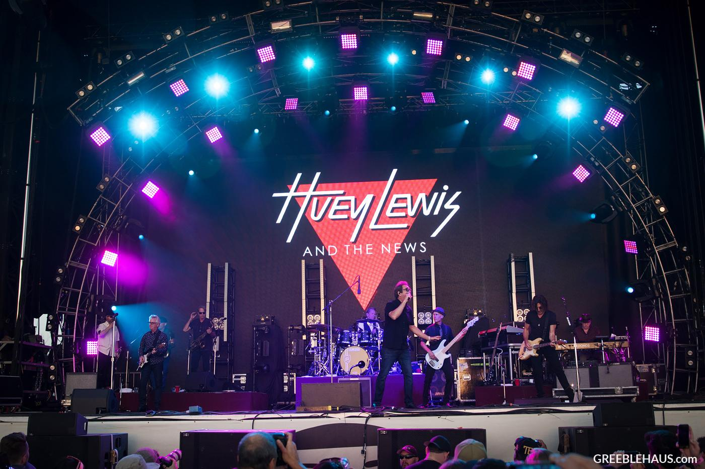 Huey Lewis & The News - Lost Lake Music Festival Phoenix 2017