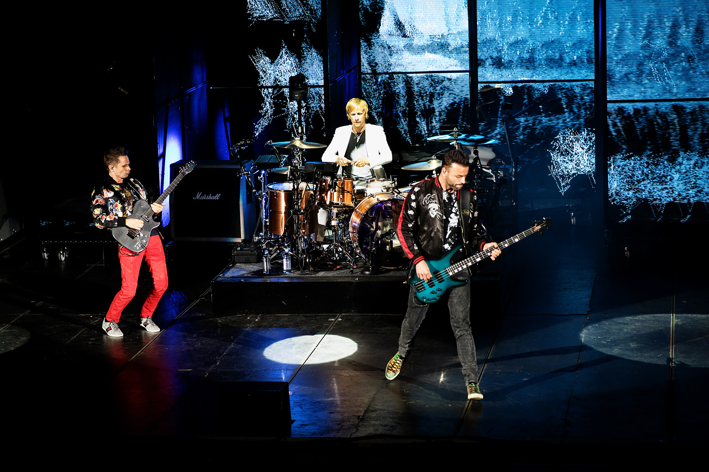 Muse, Thirty Seconds To Mars and PVRIS at Red Rocks in Denver
