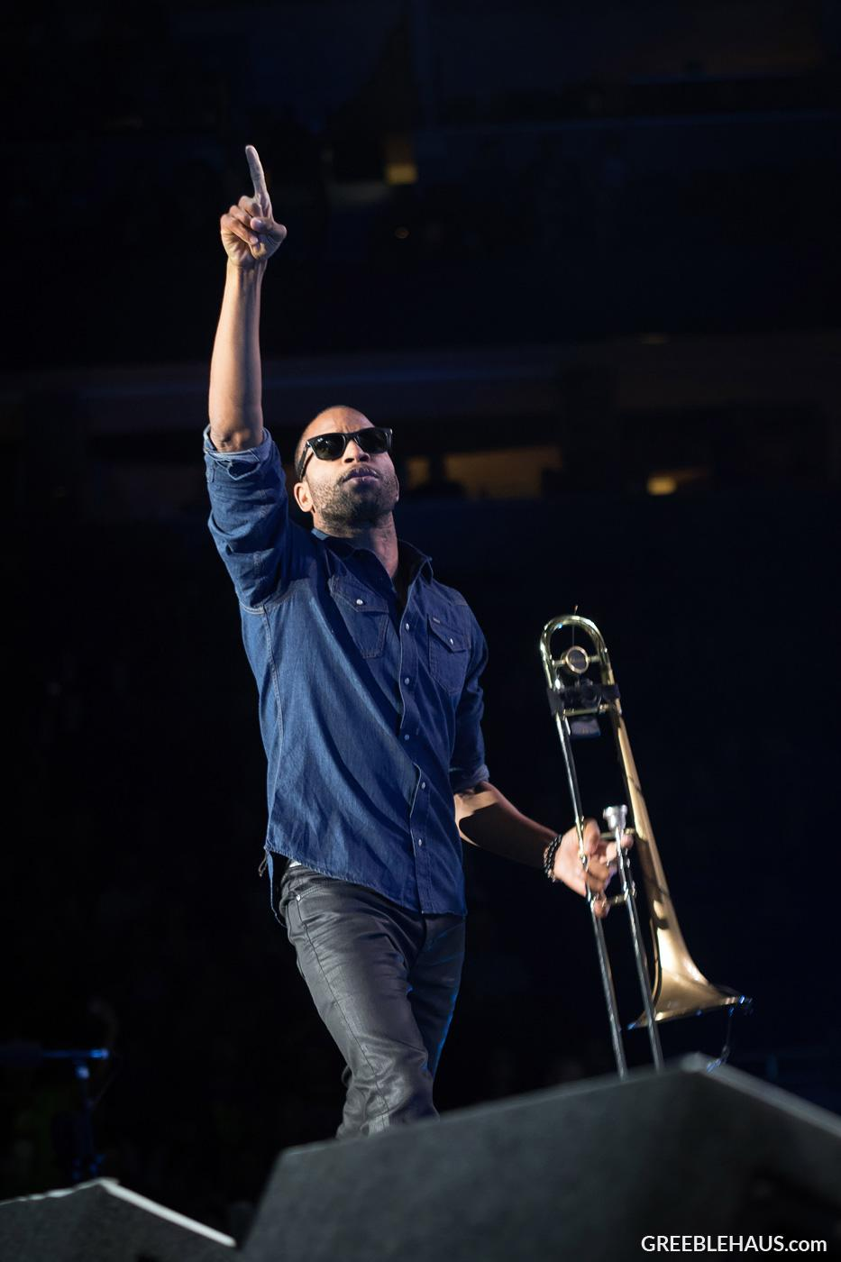 Trombone Shorty - Denver Concert Photos