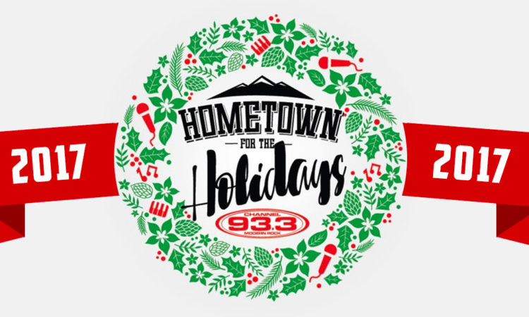Hometown For The Holidays Top Ten - Channel 93.3 Song Contest Denver