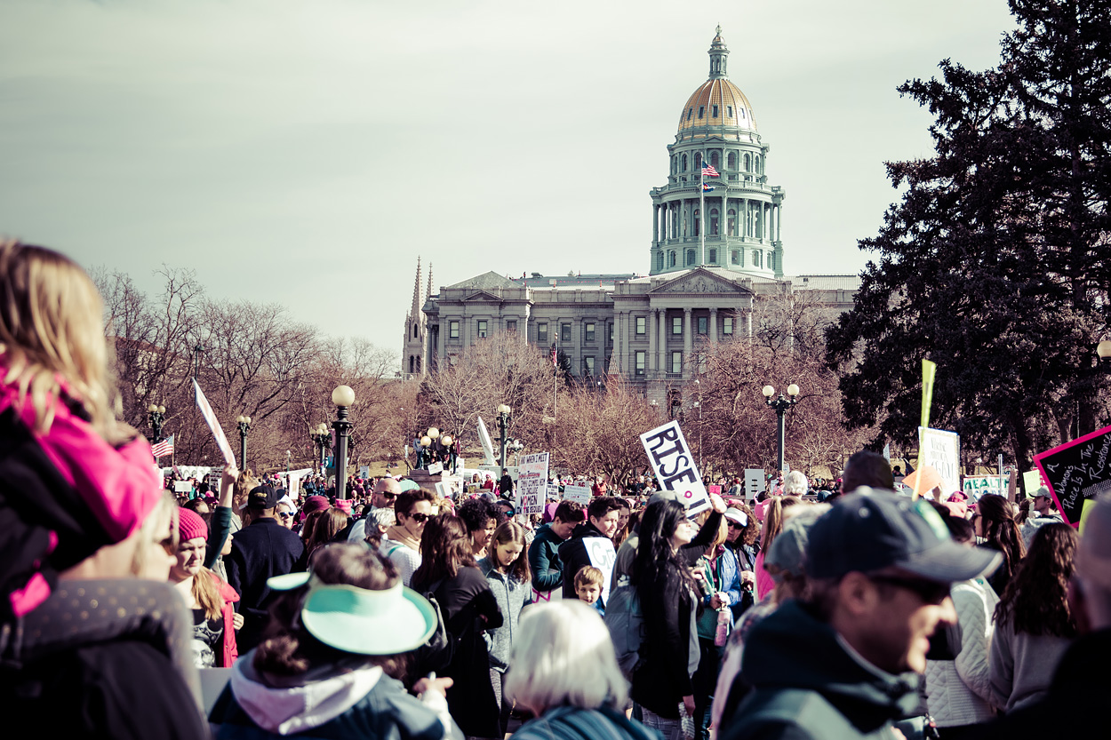 Women's March Denver 2018 - Photos and Protest Signs
