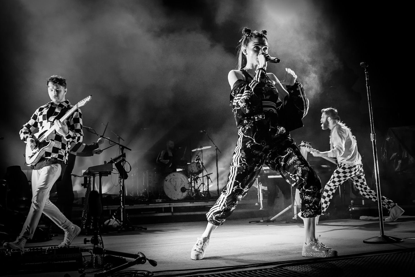 X-Ambassadors and MisterWives at Red Rocks in Denver, Colorado - Concert Photos