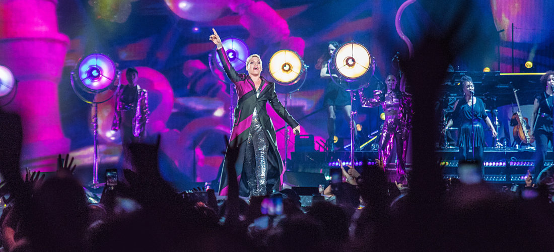 P!NK Beautiful Trauma Concert Photos From Denver's Pepsi Center