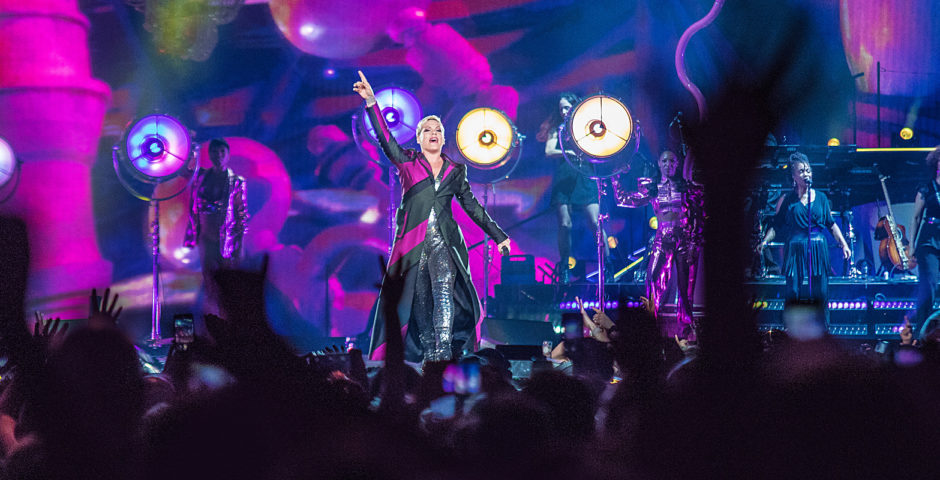 Pink Concert Photos Denver - Beautiful Trauma Tour P!NK