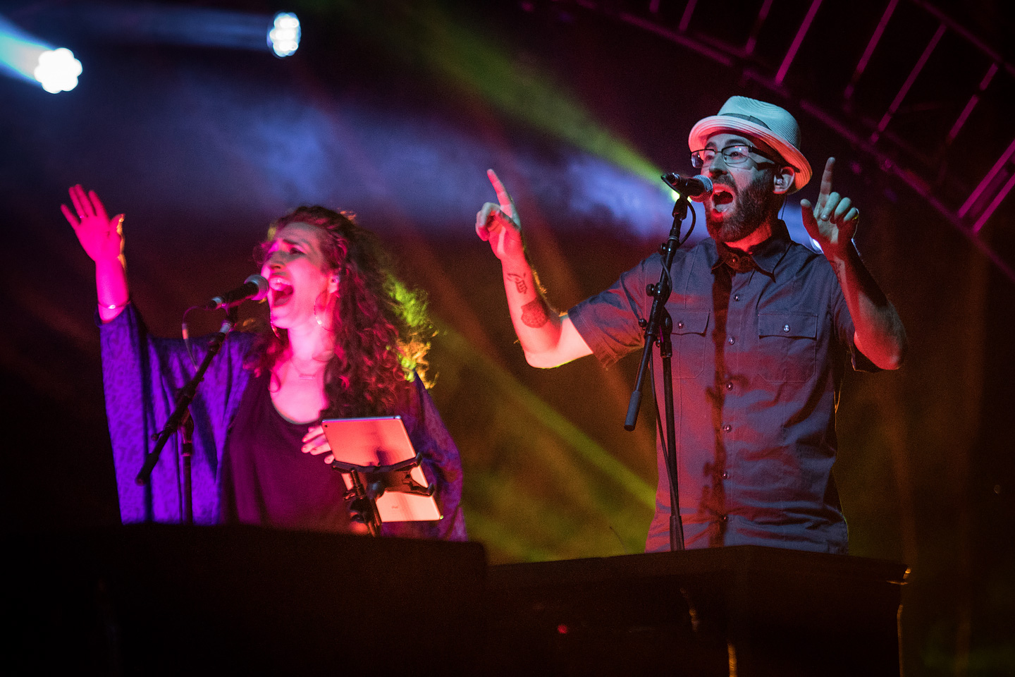 The Motet - Concert Photos from Red Rocks