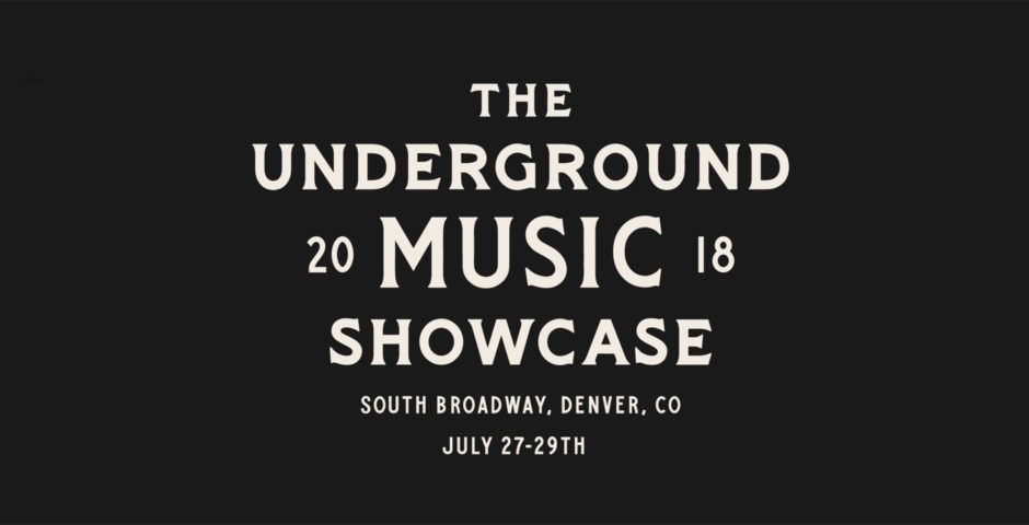 Underground Music Showcase (UMS) Lineup 2018