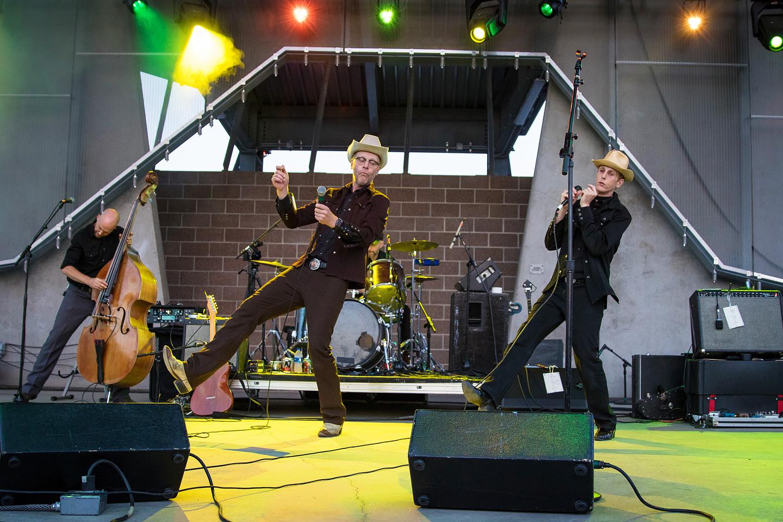 Slim Cessna's Auto Club & Strange Americans - Concert Photos from Levitt Denver