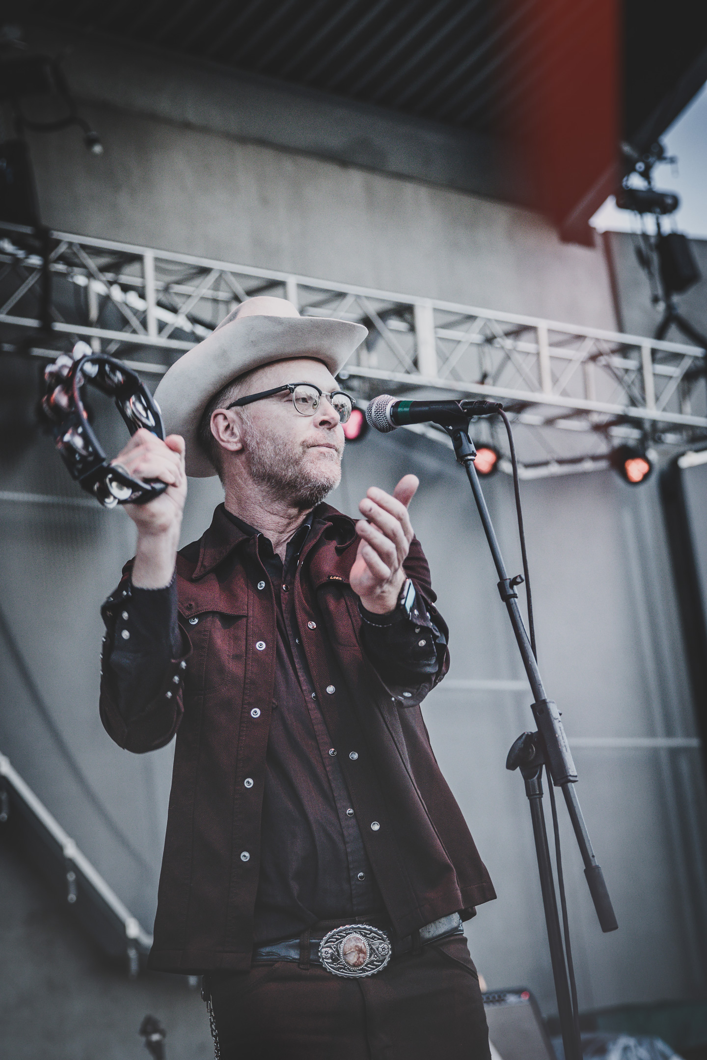 Slim Cessna's Auto Club & Strange Americans - Concert Photos from Levitt Denver