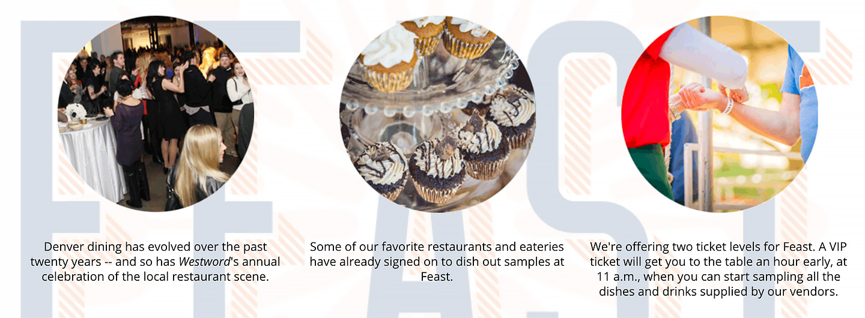 Denver Westword Feast Discount Code GREEBLE