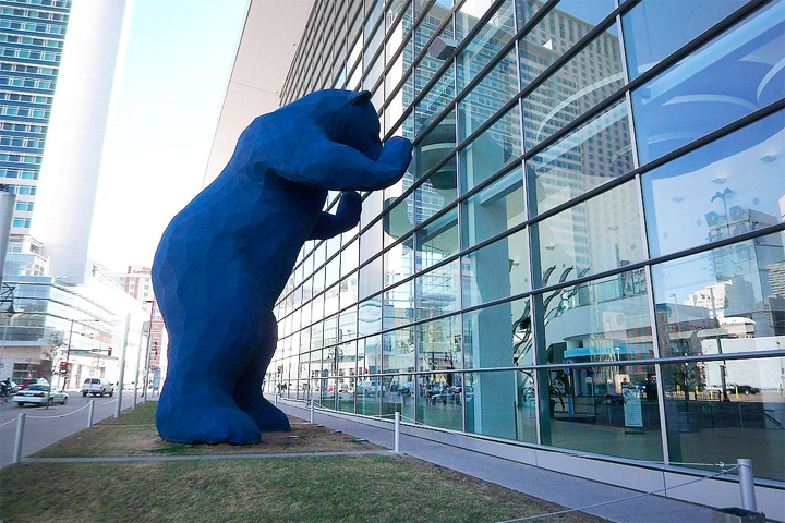 Things to Do in Denver - Blue Bear