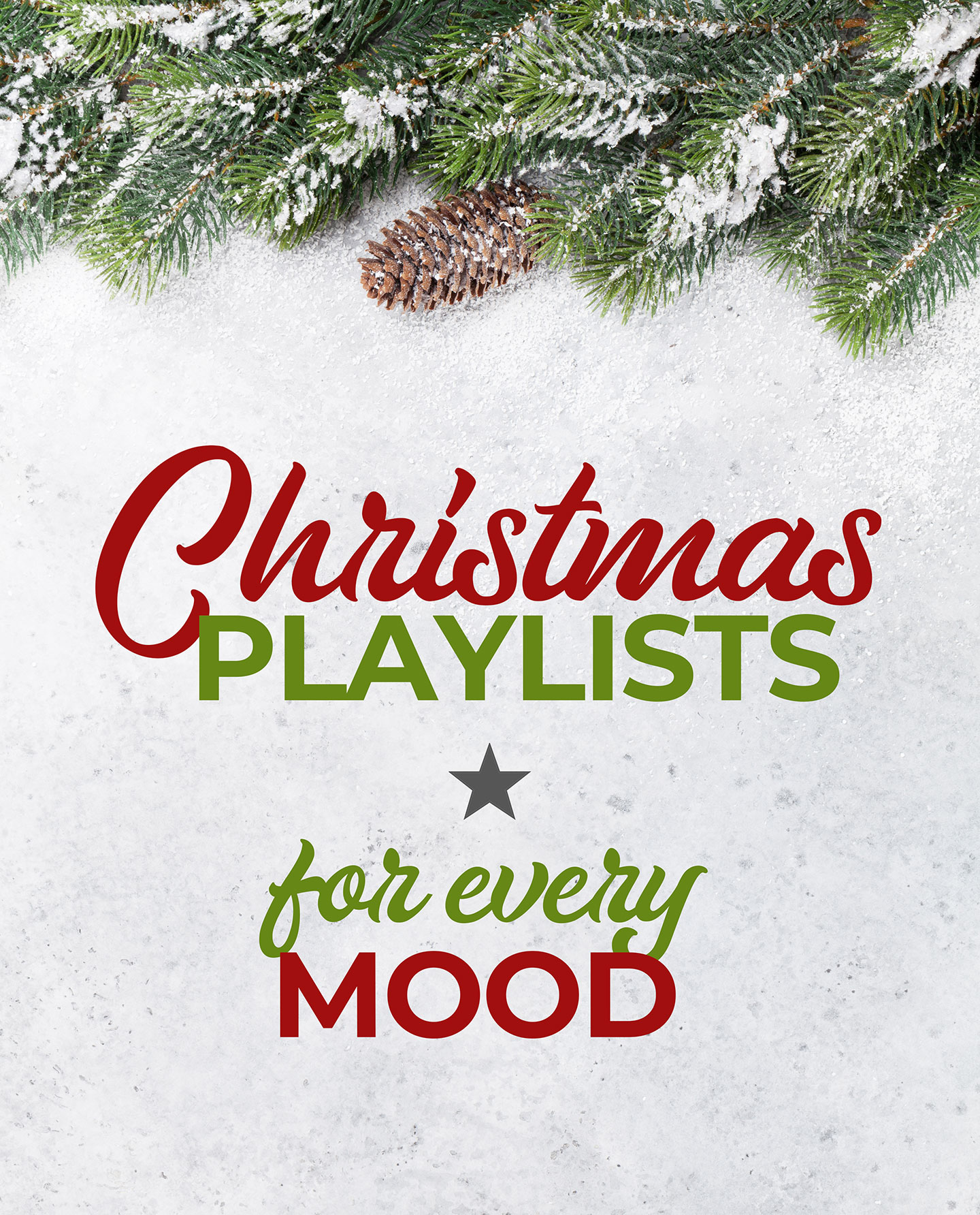 Christmas Playlists For Every Mood #Music #Playlists #Christmas #Spotify