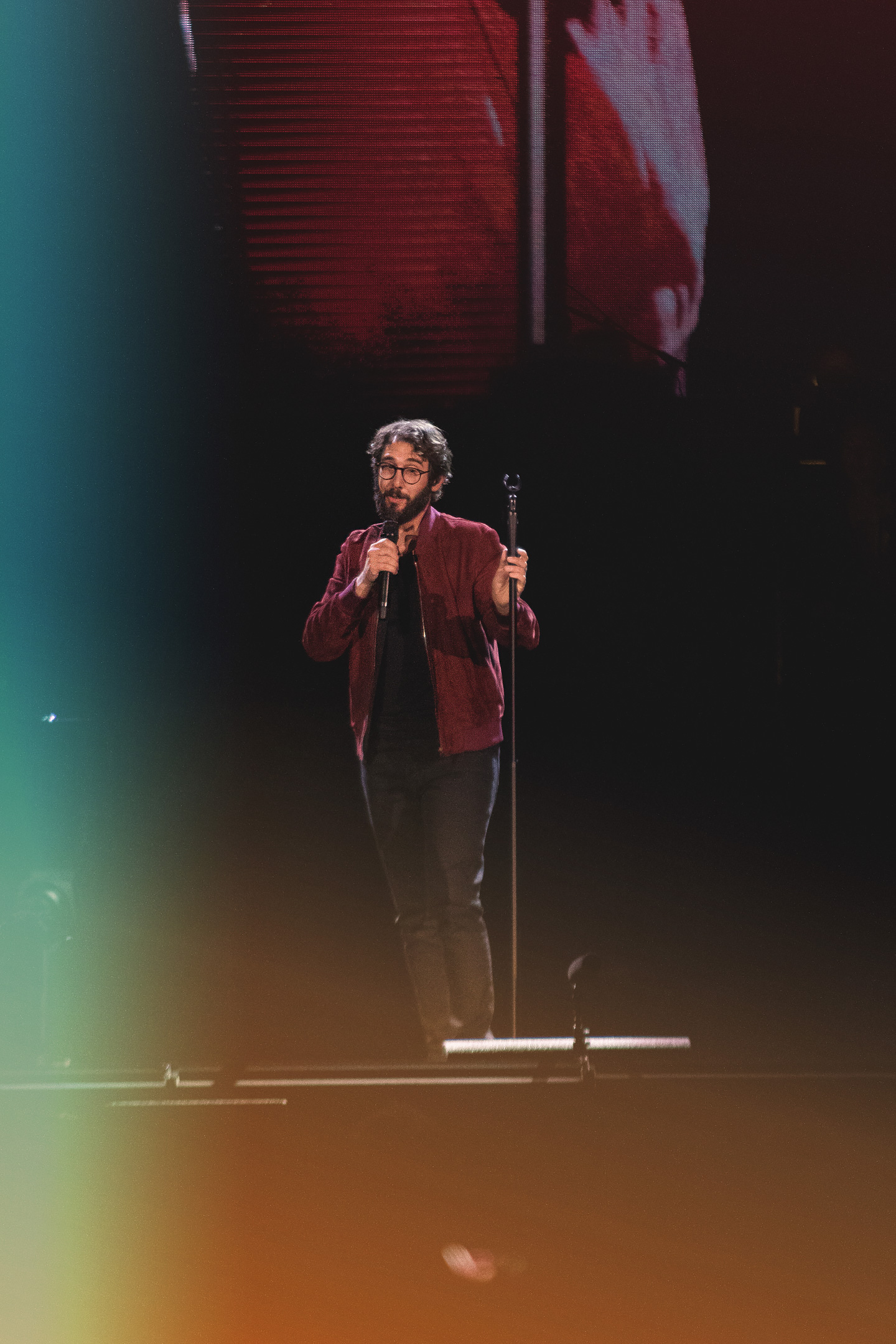 Josh Groban & Idina Menzel at Pepsi Center - Denver Concert Photos