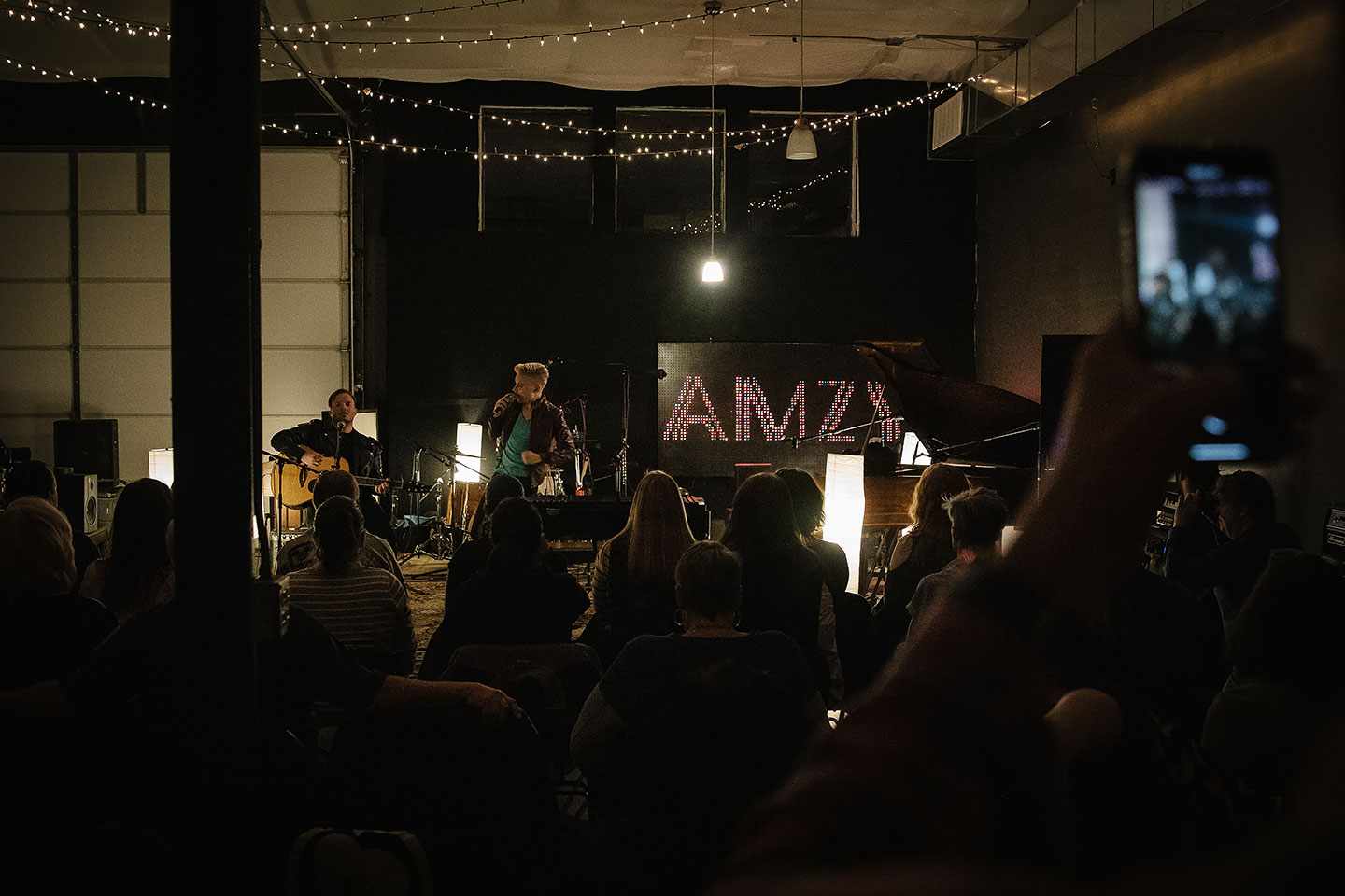 Denver Band AMZY - Acoustic Concert Photos
