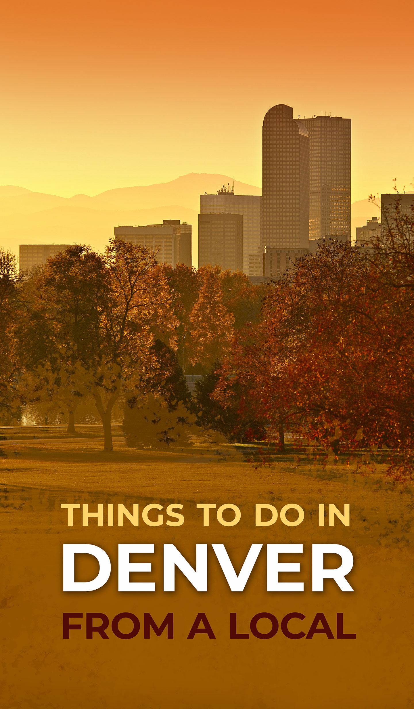 List of Things To Do In Denver From A Local #Travel #Denver #Colorado