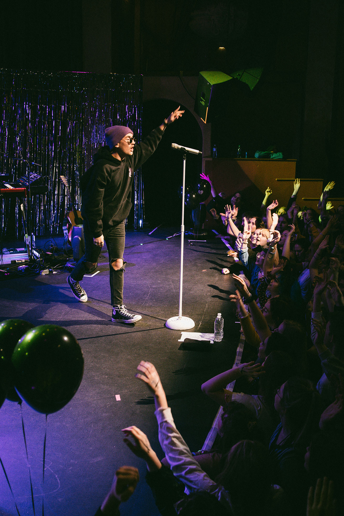 Gnash and Mallrat at Bluebird Theater - Denver Concert Photos