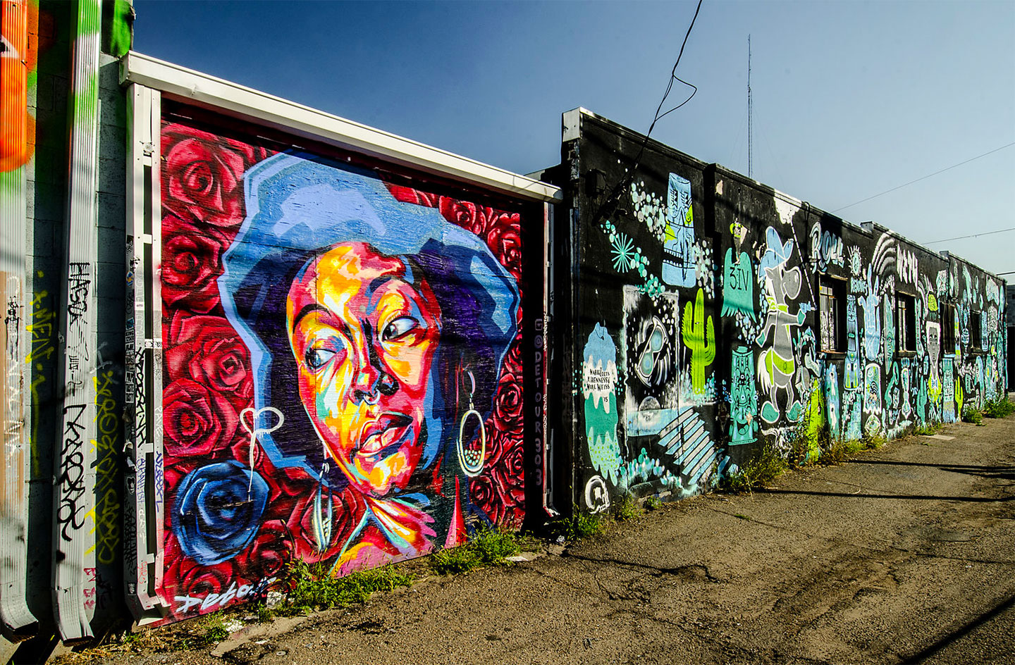 Things to Do in Denver - RINO Street Art