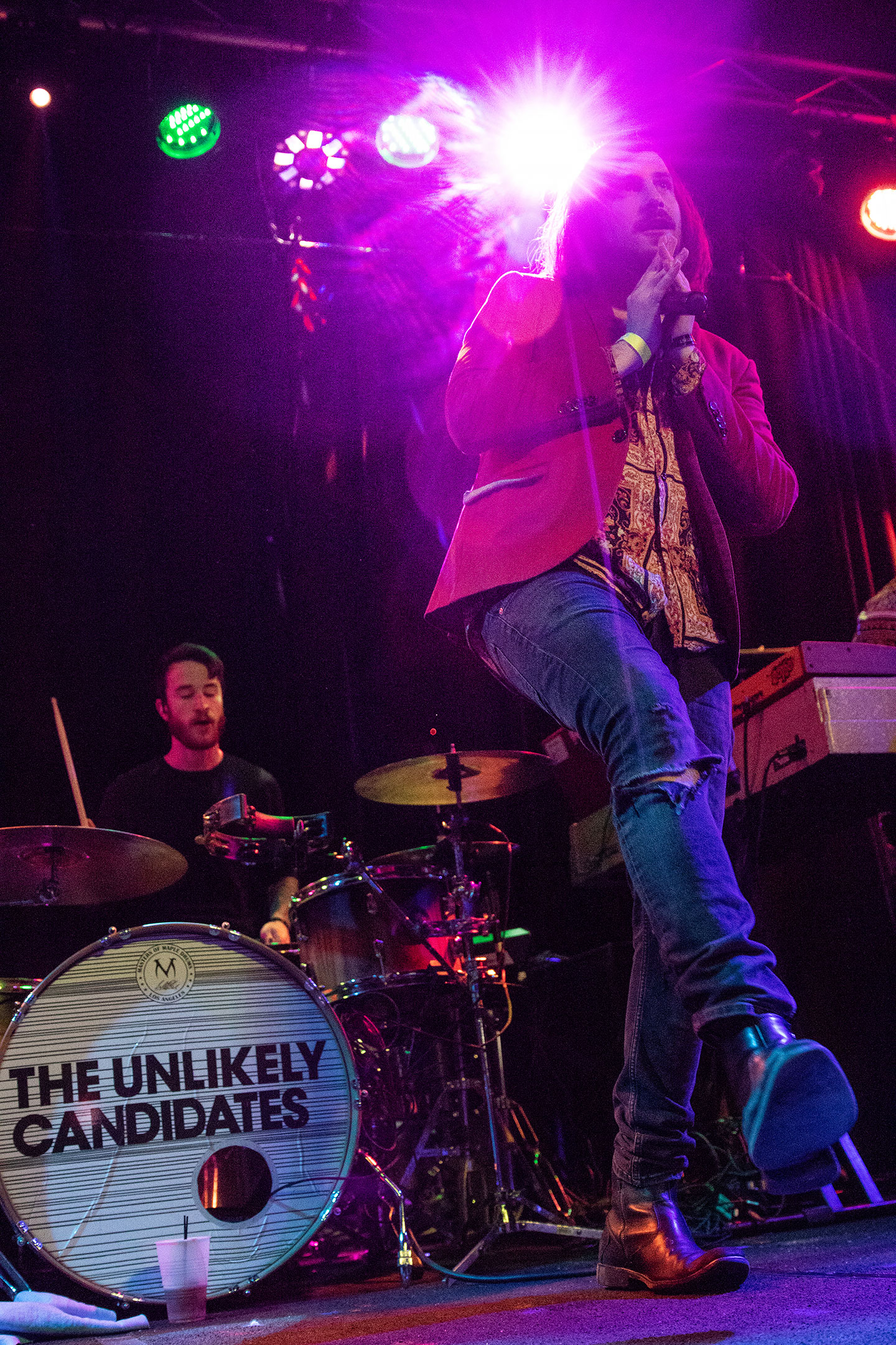The Unlikely Candidates at The Roxy - Denver Concert Photos