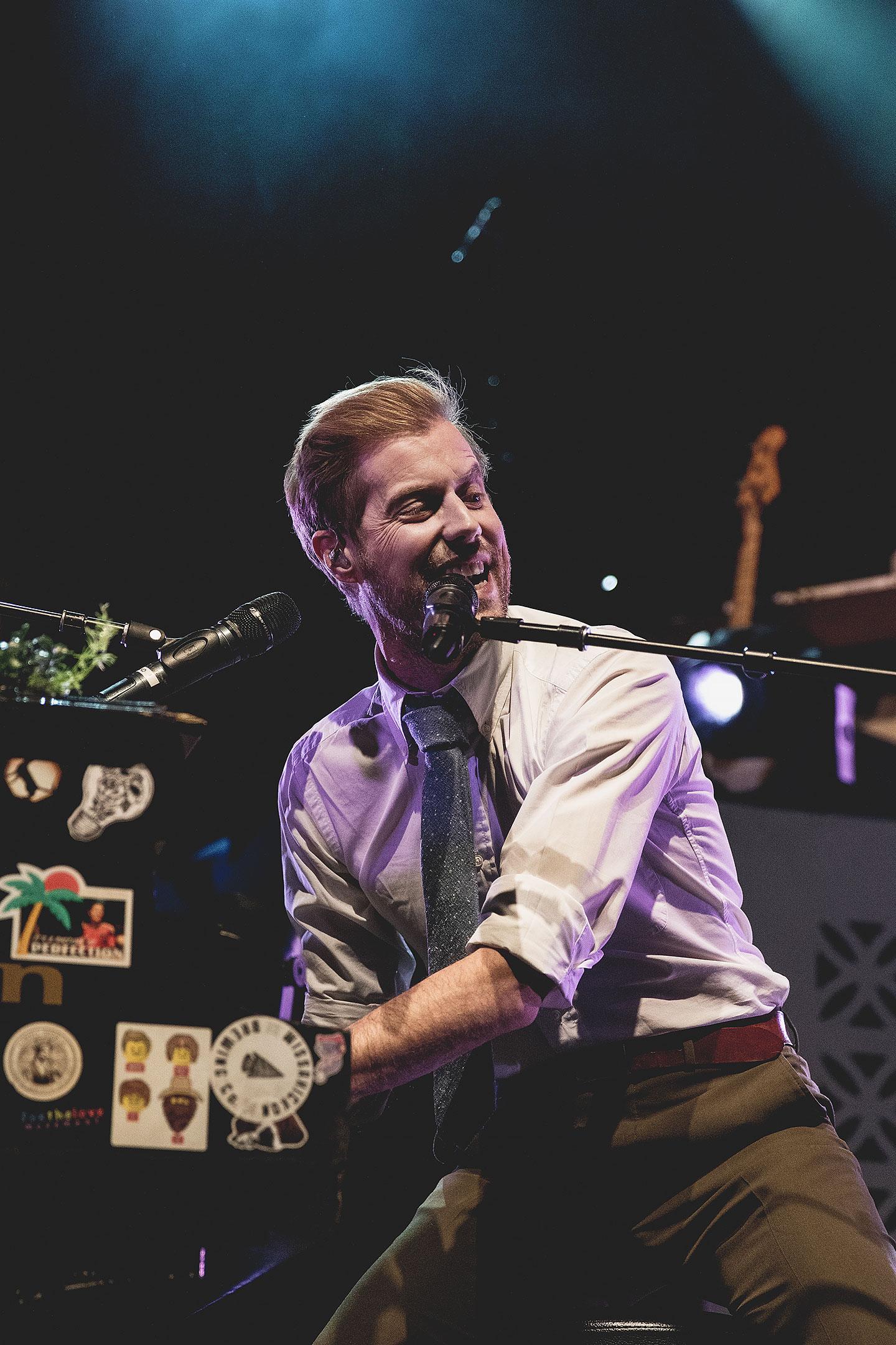 Andrew McMahon In The Wilderness - Flor - Grizfolk - Denver Concert Photos - The Fillmore Auditorium